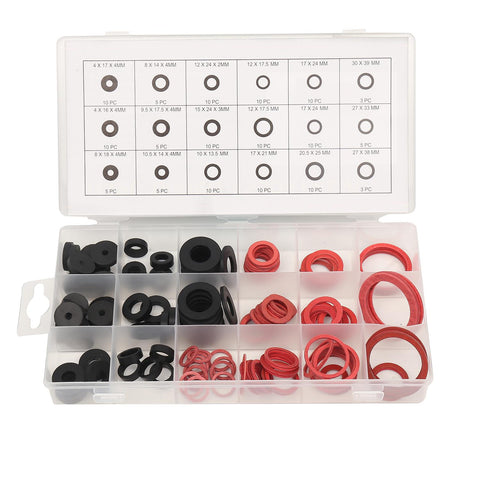 TOPWAY 225PCs Nitrile O Ring Set