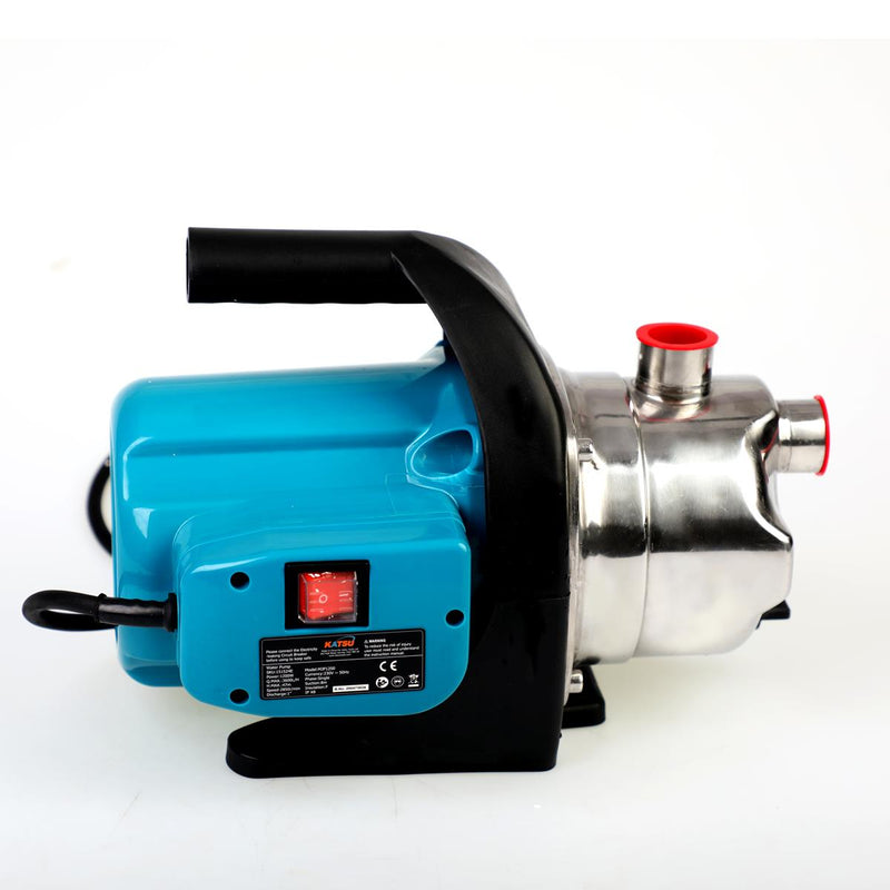 Garden Water Pump Stainless Housing 1000W EU Plug