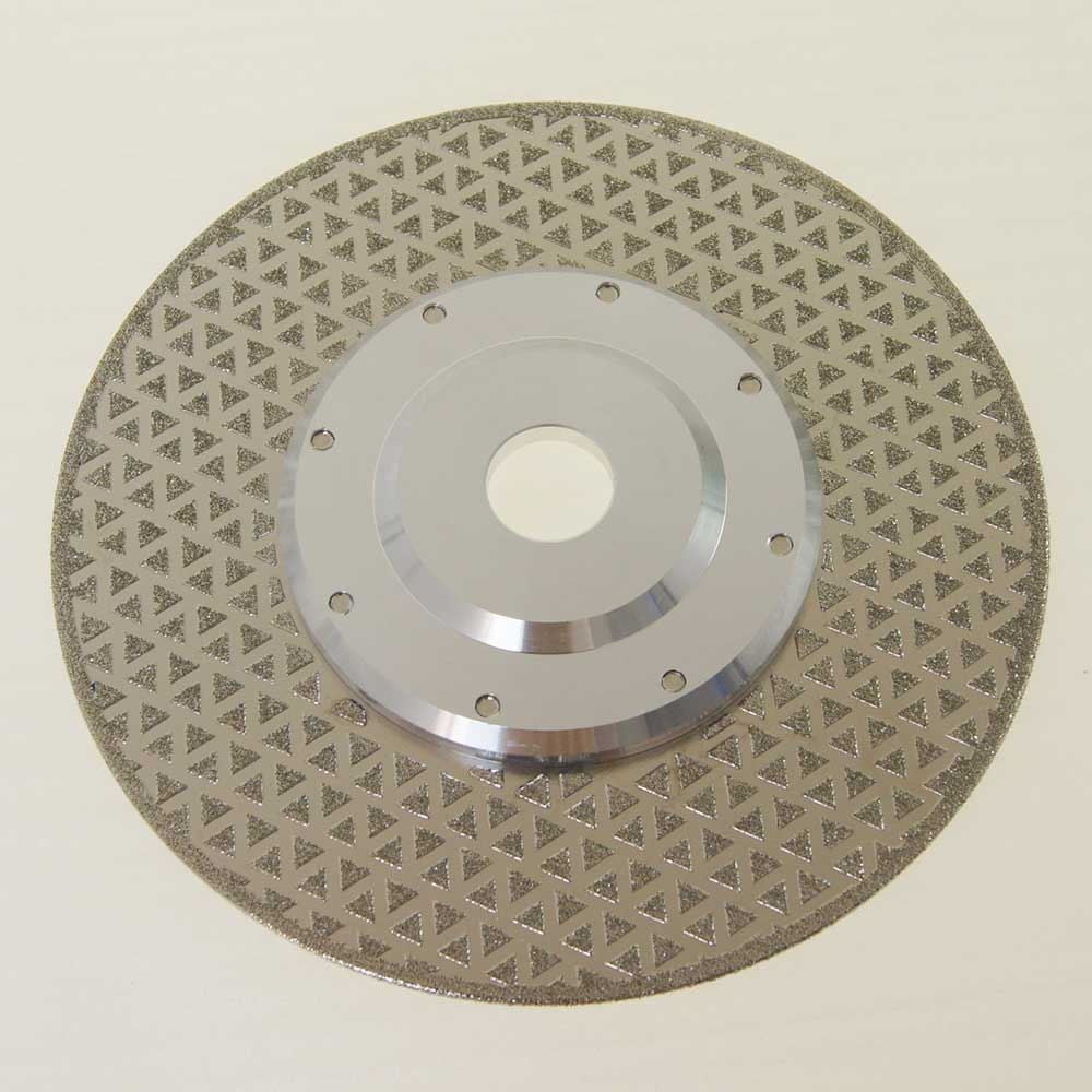 141056 Professional Electro Plated Diamond Cutting & Grinding Disc 230mm W/Flange