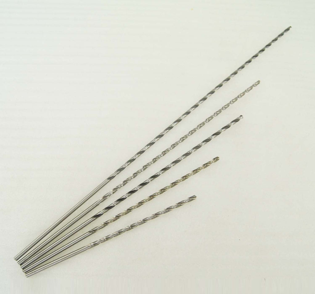 12601 HSS 9341 Extra Long Twist Drill Bits 1 To 5MM Length 600MM
