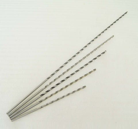 12605 HSS 9341 Extra Long Twist Drill Bits 5.5 To 9MM Length 600MM