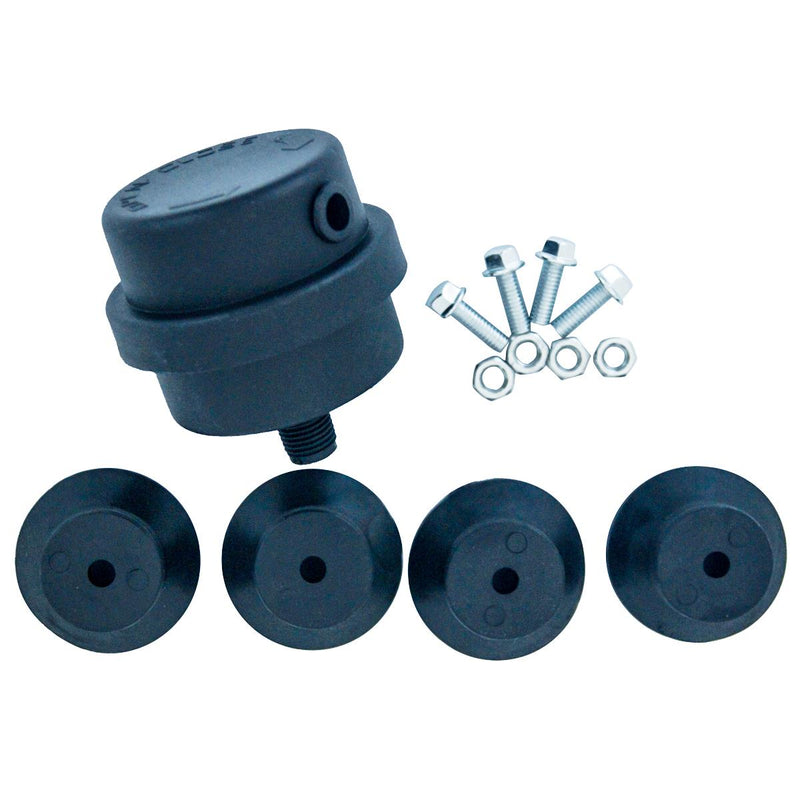 Small Air compressor Replacement Parts  Rubber Feet Kit With Mufflers
