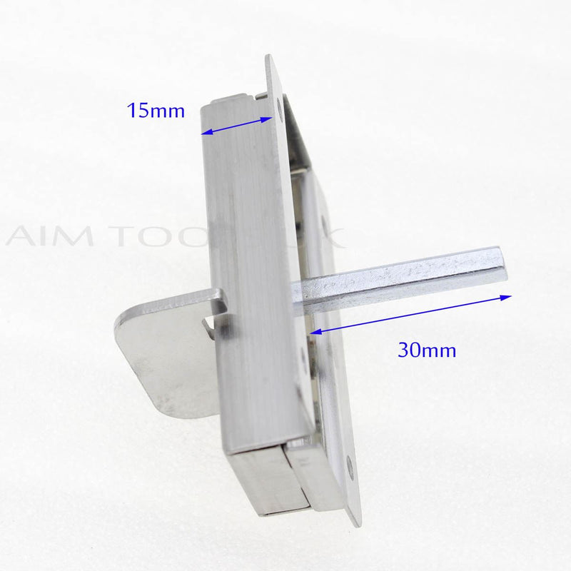 Indicator Bolt with Vacant Engaged Bathroom Toilet Door Lock