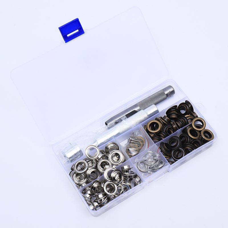 Eyelets With Tool Kit 2 Colours 10MM 100PC