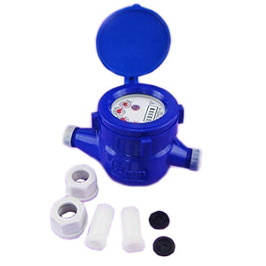 15180516 Plastic Water Meter Counter 15mm Dry Dial