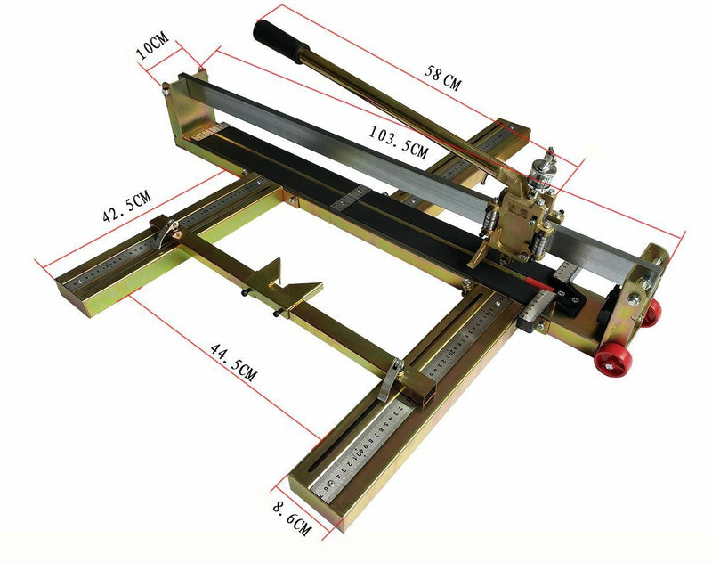 Heavy Duty High Precision Manual Tile Cutter 800Mm