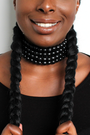 Beaded Choker (Black)