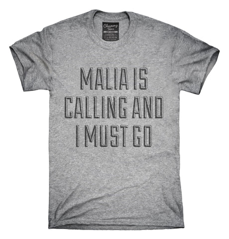 Funny Malia Vacation T-Shirt