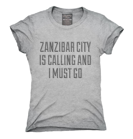 Funny Zanzibar City Vacation T-Shirt