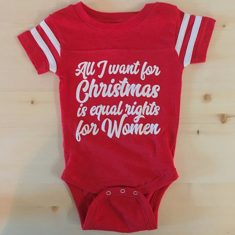 ALL I WANT FOR CHRISTMAS/ONESIE (6-24MO)