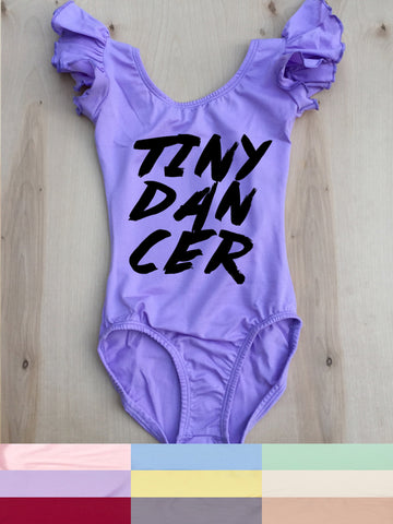 TINY DANCER LEOTARD/ 2 SLEEVE & 9 COLOR OPTIONS!