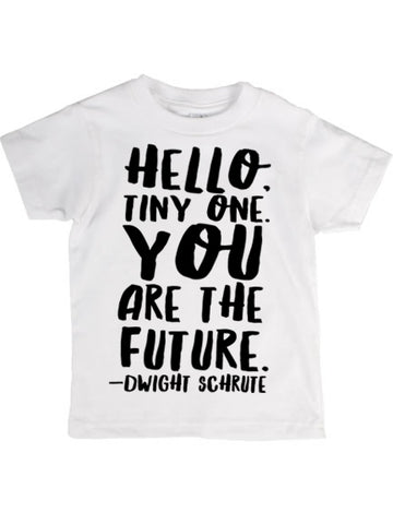"""YOU ARE THE FUTURE"" tee (2YR-6/7YR)"