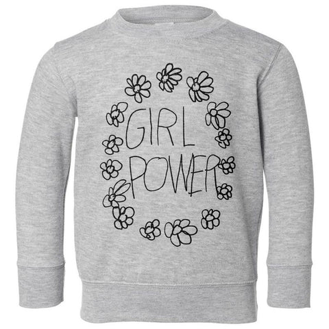 """GIRL POWER"" PULLOVER, DESIGNED BY CLARA, 6 YRS OLD! (2YR-6YR)"
