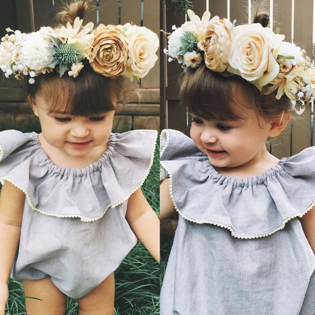 Autumn Paisley flower crown (Toddler-adult) ready to ship