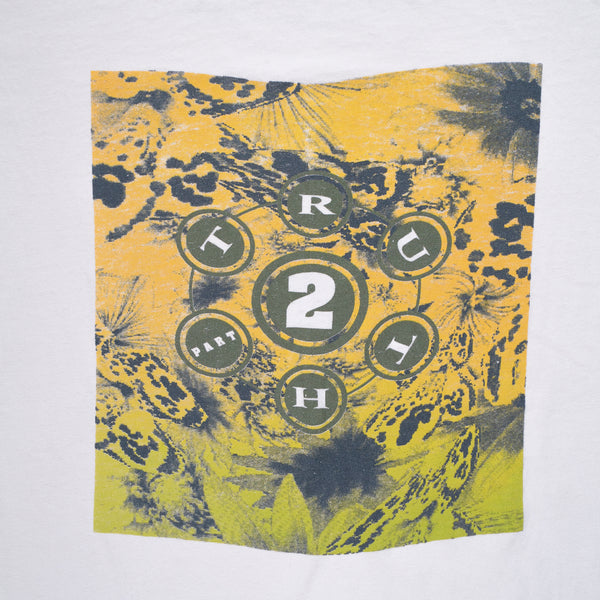 Freshjive Truth 2 Rave Flyer T-Shirt (Lost Angels Love & Extasy 1990)