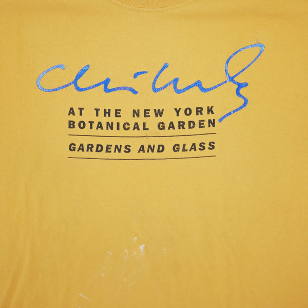 Dale Chihuly Gardens & Glass New York Botanical Garden 2006 T-Shirt XL