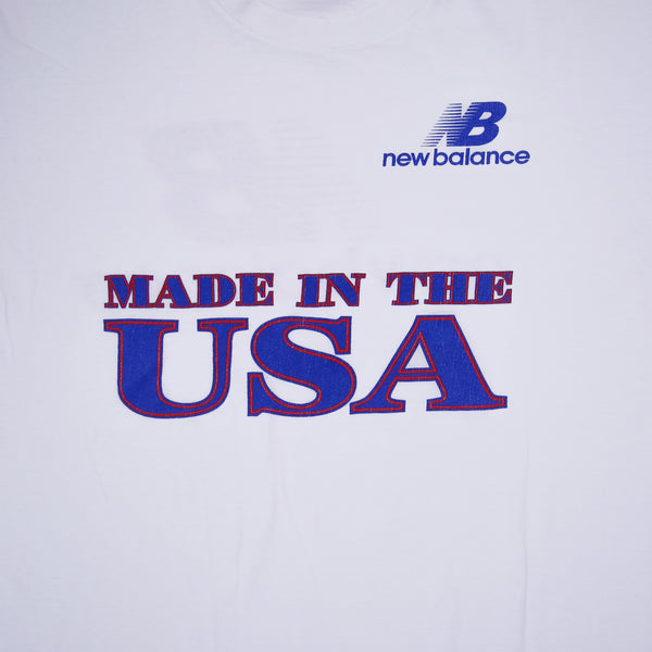 New Balance Made in the USA 2 Sided T-Shirt XL
