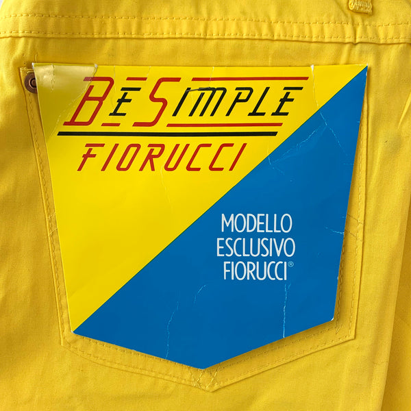 Fiorucci Yellow Safety Jeans
