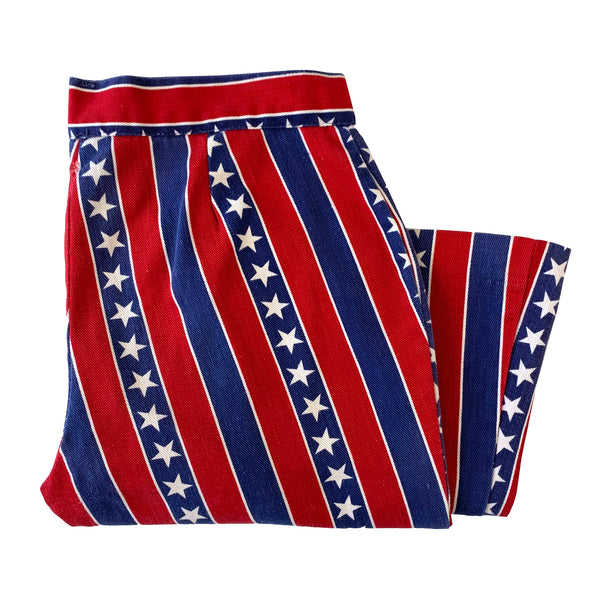Kemington Express American Flag Bell Bottom Pants