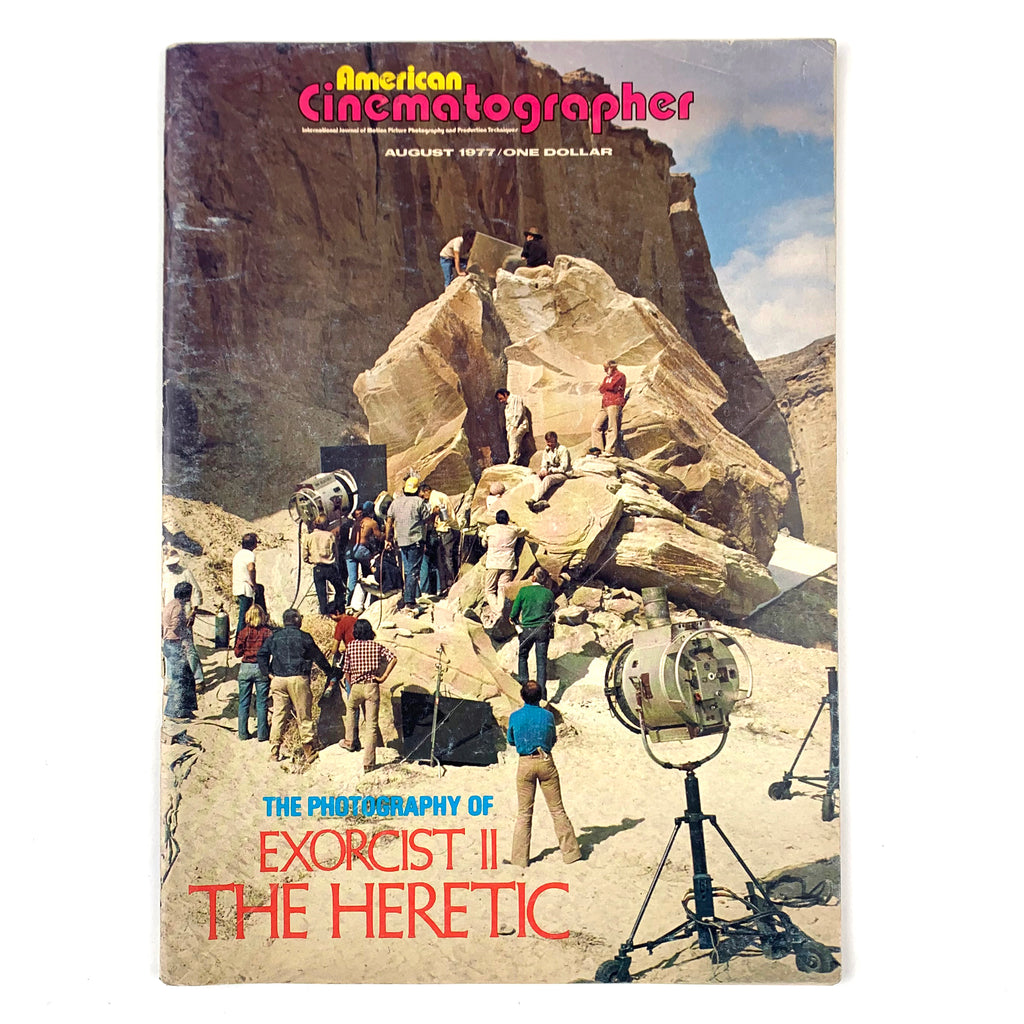 American Cinematographer Magazine August 1977