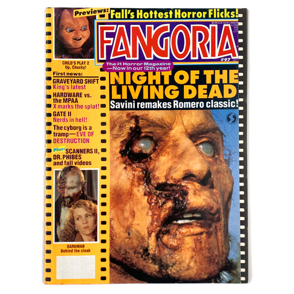 Fangoria Magazine #97 October 1990