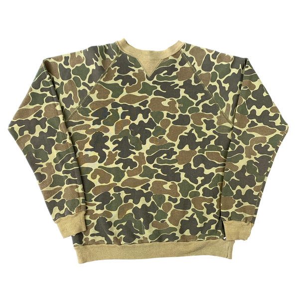 Blank Russell Athletic Camouflage Sweatshirt