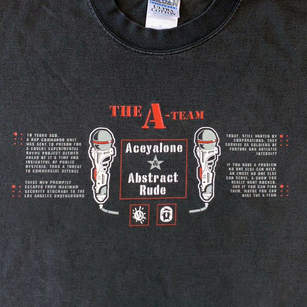 Aceyalone & Abstract Rude 'The A-Team' T-Shirt