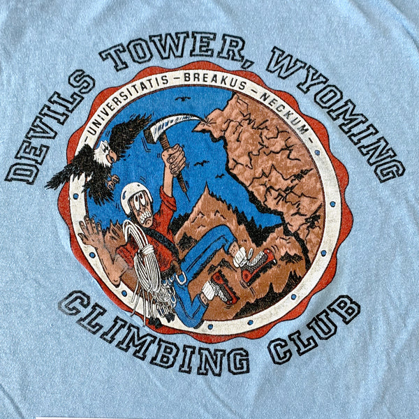 Devils Tower Wyoming Climbing Club T-Shirt