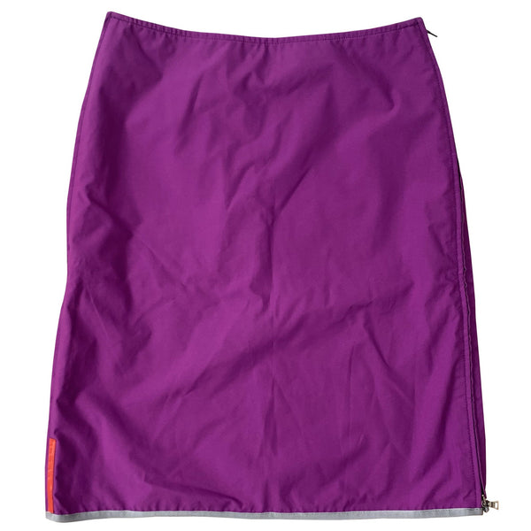 Prada Purple Gore-Tex Skirt