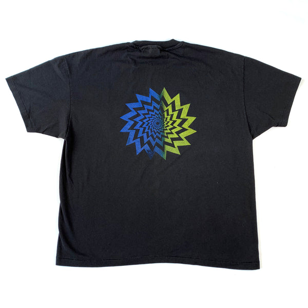 Spiral Graphic Black T-Shirt