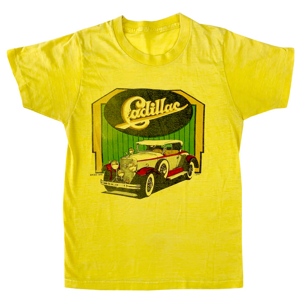 Cadillac Yellow T-Shirt