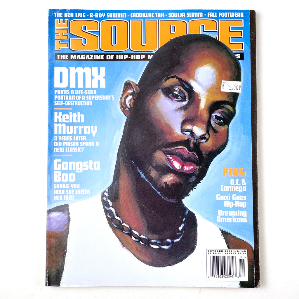 The Source Magazine October 2001