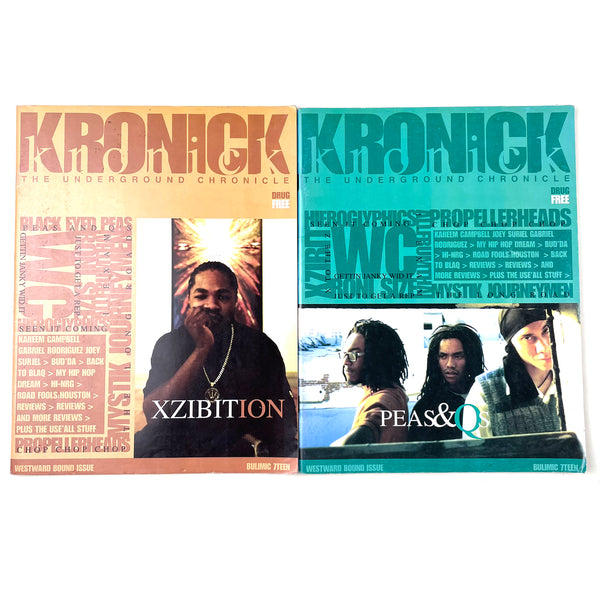 Kronick Magazine Issues #17 Variant Covers