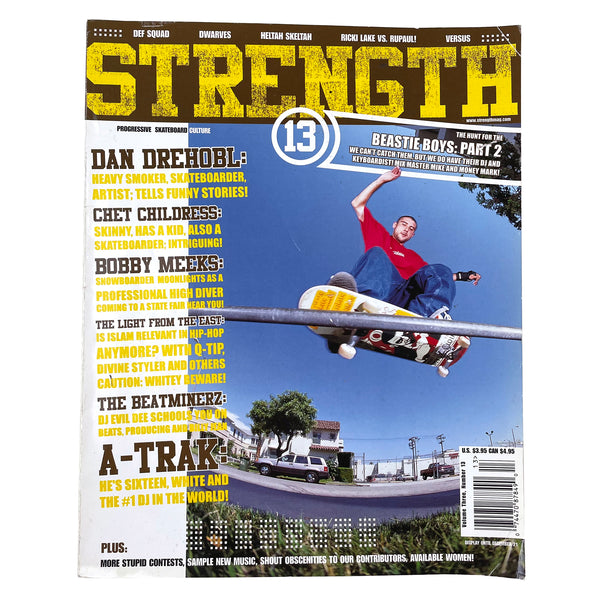 Strength Magazine Issue #13 1998