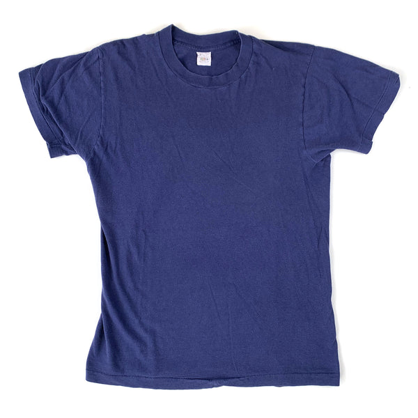 Blank Fruit of the Loom Navy Blue T-Shirt