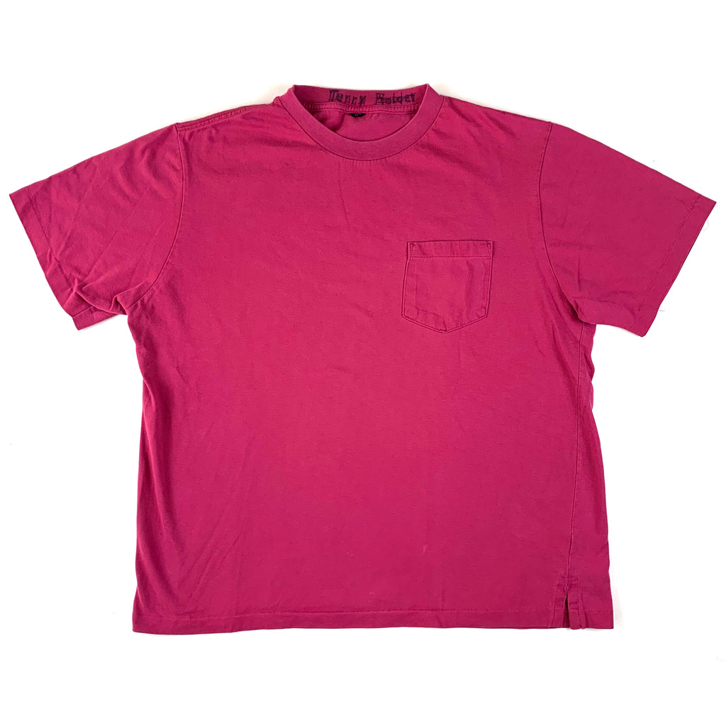 Blank Maroon Pocket T-Shirt