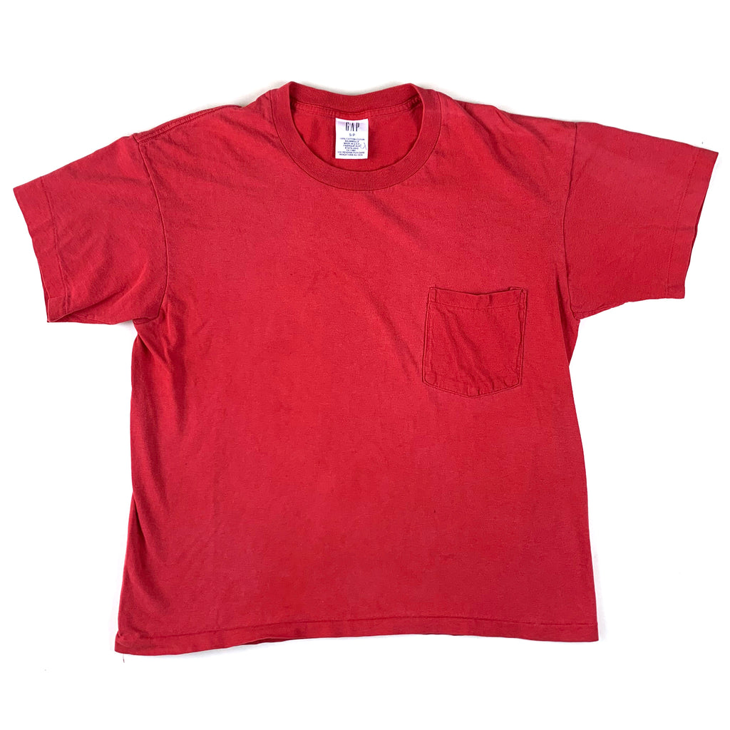 Blank Gap Red Pocket T-Shirt