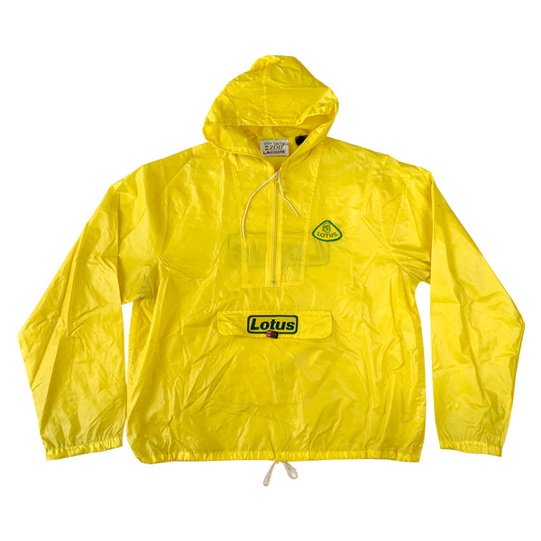 Lotus Pullover Hooded Windbreaker