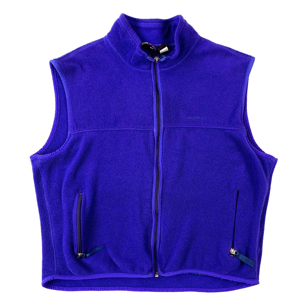 Patagonia Purple Fleece Vest