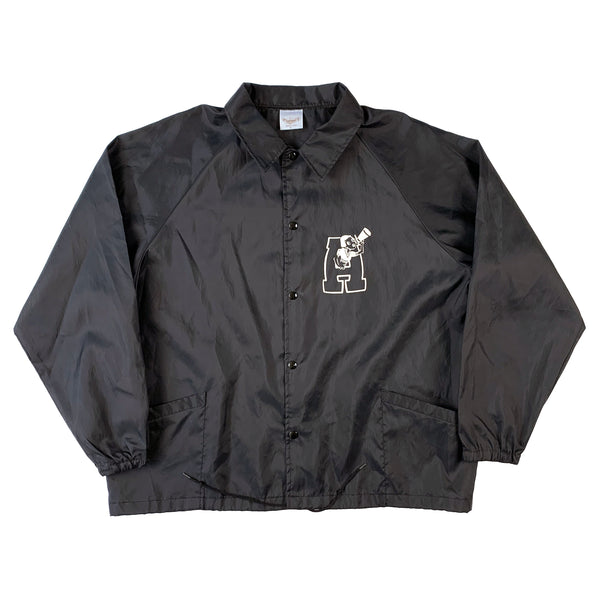 Anna Sui Black Coaches Jacket