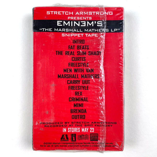 "Eminem ""The Marshal Mathers LP"" Snippet Tape on Aftermath (2000)"