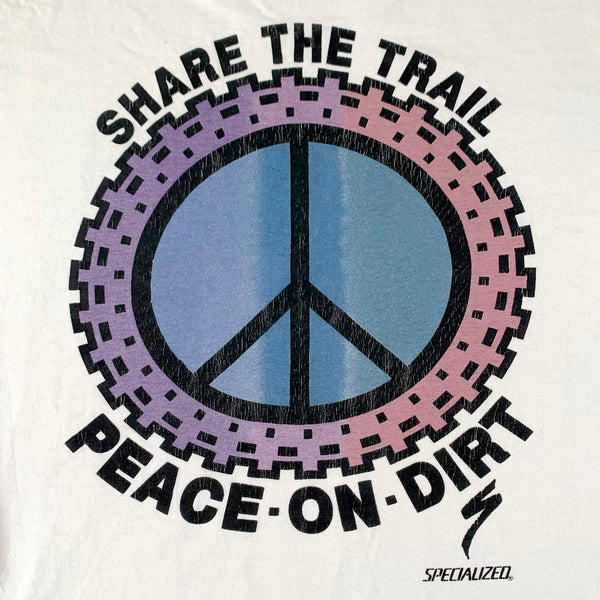 Specialized Share the Trail Peace on Dirt T-Shirt
