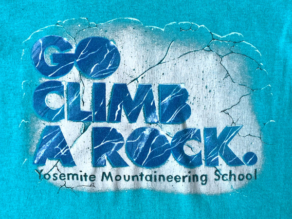 Yosemite 'Go Climb A Rock' Mountaineering School T-Shirt