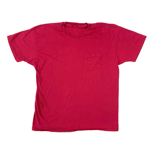 Blank Magenta Pocket T-Shirt