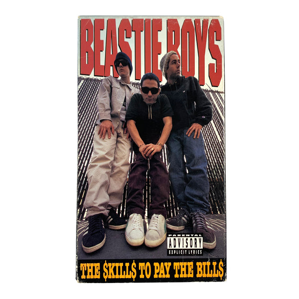 Beastie Boys Skills To Pay the Bills VHS