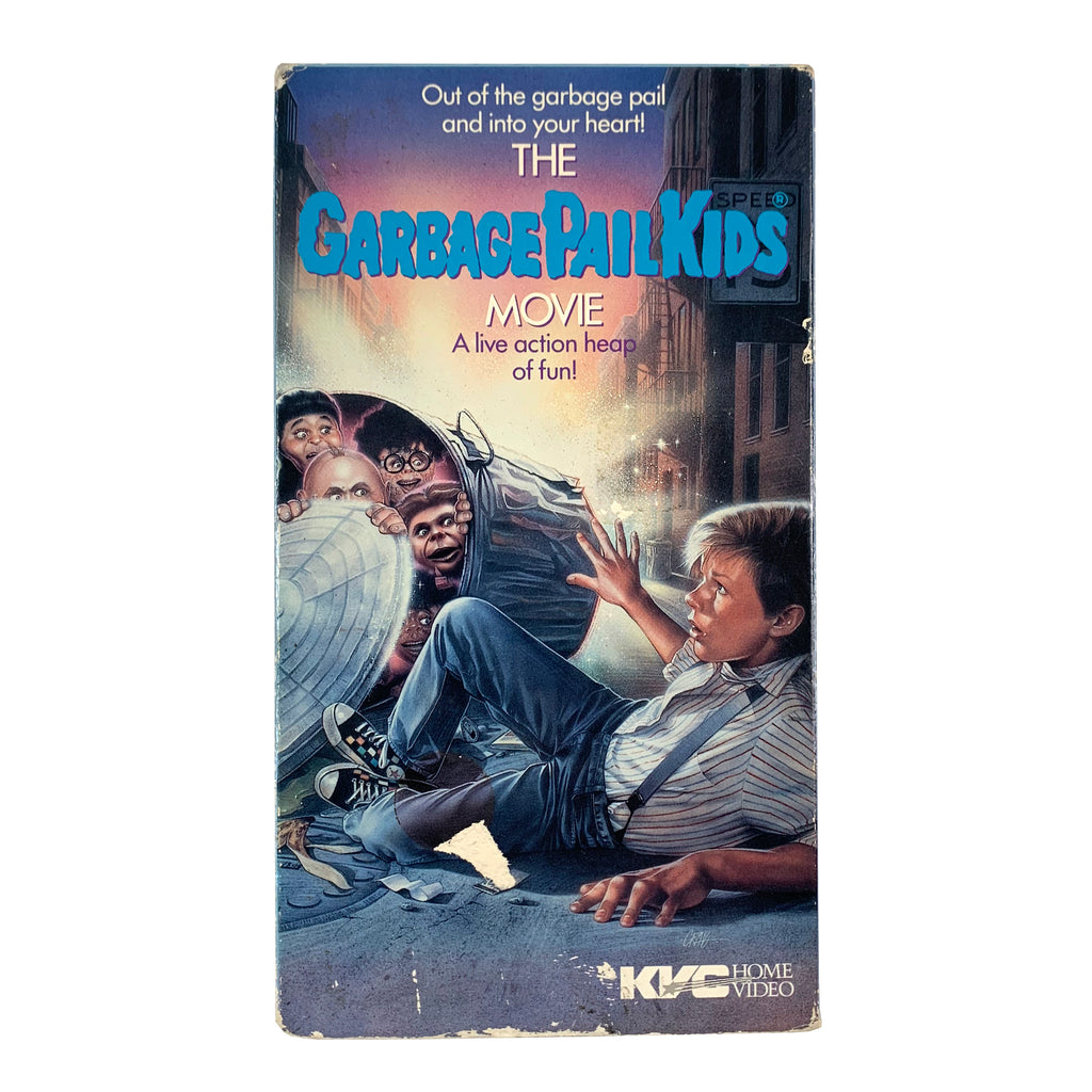 The Garbage Pail Kids Movie VHS
