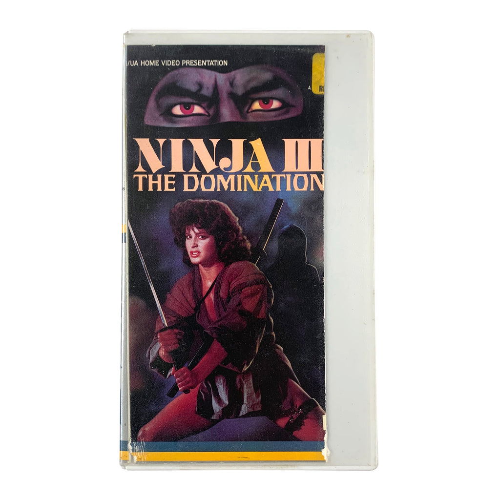 Ninja III: The Domination VHS