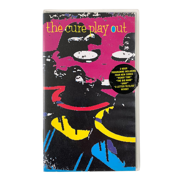 The Cure 'Play Out' VHS