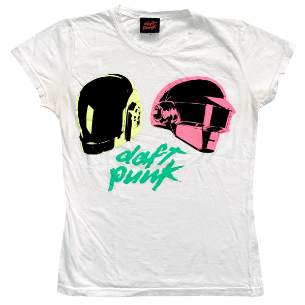 Daft Punk White T-Shirt
