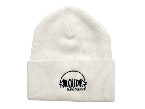 MOP x Loud Records White Beanie
